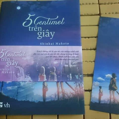 """Sách """"5 Centimet Trên Giây"""" - Shinkai Makoto - 3050843 thuannguyen1088 - 28  Mạc"""