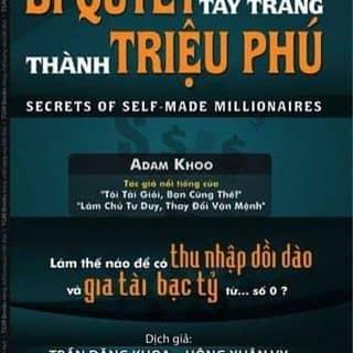 """Sách  """"bí quyết tay trắng thành triệu phú"""" của tamdaiphattamdaiphat tại Hải Dương - 2728731"""