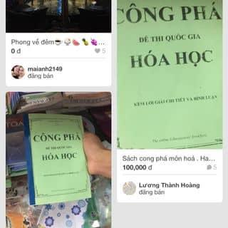 Sách cong phá hoá  của hoangluongthanh tại Shop online, Huyện Nghi Xuân, Hà Tĩnh - 1627839