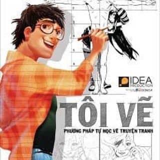 """Sách dạy vẽ truyện tranh """" tôi vẽ """" sale  của wulong tại Thừa Thiên Huế - 782401"""