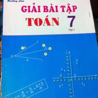 Sách giải toán lớp 7 của halynatran27 tại 97 Trần Phú,  P. Phủ Hà, Thành Phố Phan Rang-Tháp Chàm, Ninh Thuận - 1207847