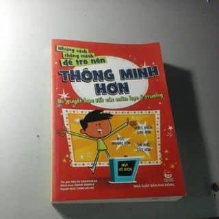 """Sách """"Những cách để trở nên thông minh hơn"""" của nguyenthinh460 tại Hồ Chí Minh - 3147925"""