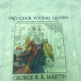 Sách tô màu - Trò chơi vương quyền của myungsoo373 tại Hồ Chí Minh - 1693279