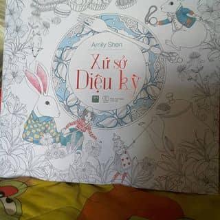 Sách tô màu xứ sở diệu kì của daoqui5961 tại Bến Tre - 2338319