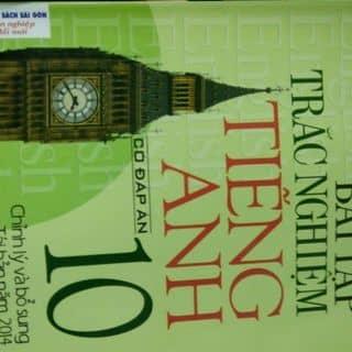 Sách trắc nghiệm Tiếng Anh 10 có đáp án của nguyendung696 tại Chợ Đêm Đà Lạt, Thành Phố Đà Lạt, Lâm Đồng - 1221188