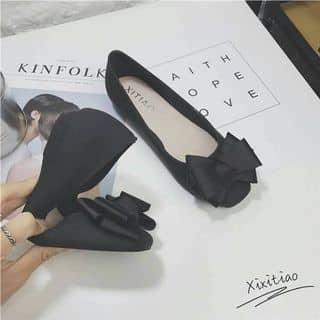 SALE Giày búp bê nơ đen dẻo của thoto136 tại Hồ Chí Minh - 3212480