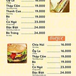 SANDWICH - BURGER - 605 Nguyễn Trãi Q5 - Ăn tối của swchianui tại 605 Nguyễn Trãi, Phường 7, Quận 5, Hồ Chí Minh - 2495872