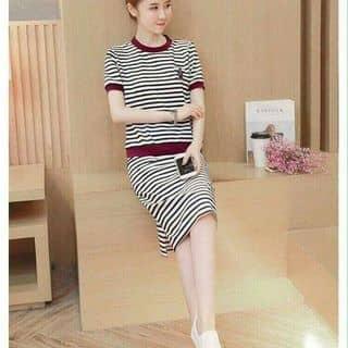 Sét áo + chân váy sọc ngang viền siêu cute của nguyenthihang38 tại Hồ Chí Minh - 3190220