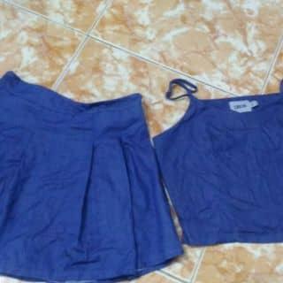 Set áo croptop + chân váy của linhdanghoang tại Hồ Chí Minh - 3371465