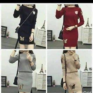 Set áo len chân váy của thuykoy5 tại Shop online, Huyện Cẩm Khê, Phú Thọ - 2361791