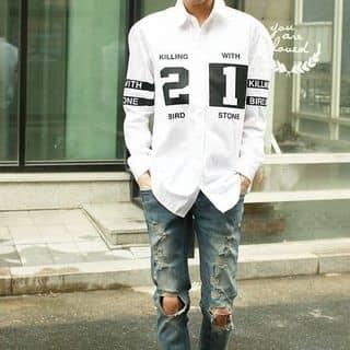 Set áo sơ mi + quần jean + giày  của leetopsu tại Hồ Chí Minh - 1744443