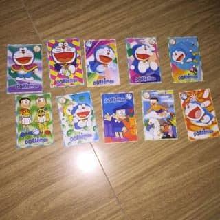Set bài Doraemon 10 tấm như hình của candy.md tại Hậu Giang - 3053302