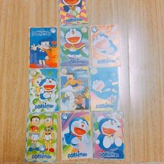 Set bài Doraemon 10 tấm như hình của candy.md tại Hậu Giang - 2697711