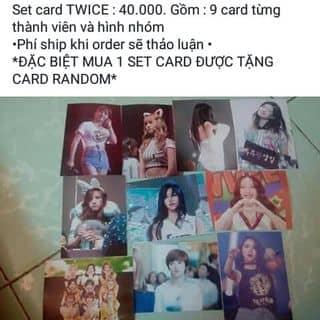 Set card Twice của oanhyoko tại Shop online, Thị Xã Từ Sơn, Bắc Ninh - 1264004