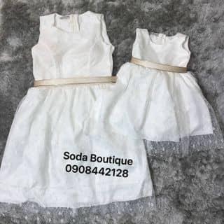 Set đầm ren cao cấp mẹ và bé của sodaboutique tại Hồ Chí Minh - 3059377