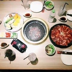 Set thịt + salad hoa quả của Cherry Huynh tại Tasaki BBQ - Món Nướng Nhật Bản - 804235