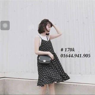 Set váy dây chấm bi của haiyentranthi1 tại 10 Hải Long, Thành Phố Hạ Long, Quảng Ninh - 2660467