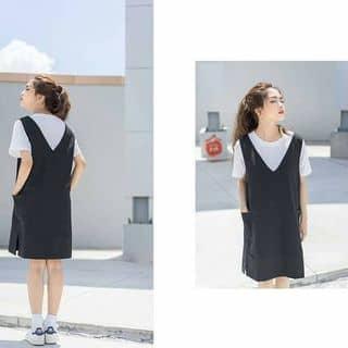 Set yếm 2 túi kèm áo thun của lehoangmaixuan tại Hồ Chí Minh - 2666709