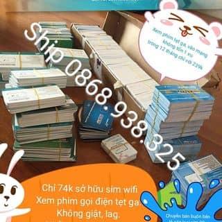 Siêu sim 4G vào mạng giá rẻ của thaonguyen2552 tại Hà Nam - 2076573
