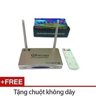 Smart box android Q9s + Tặng chuột không dây E.bus của classicbao tại Hà Tĩnh - 2664609
