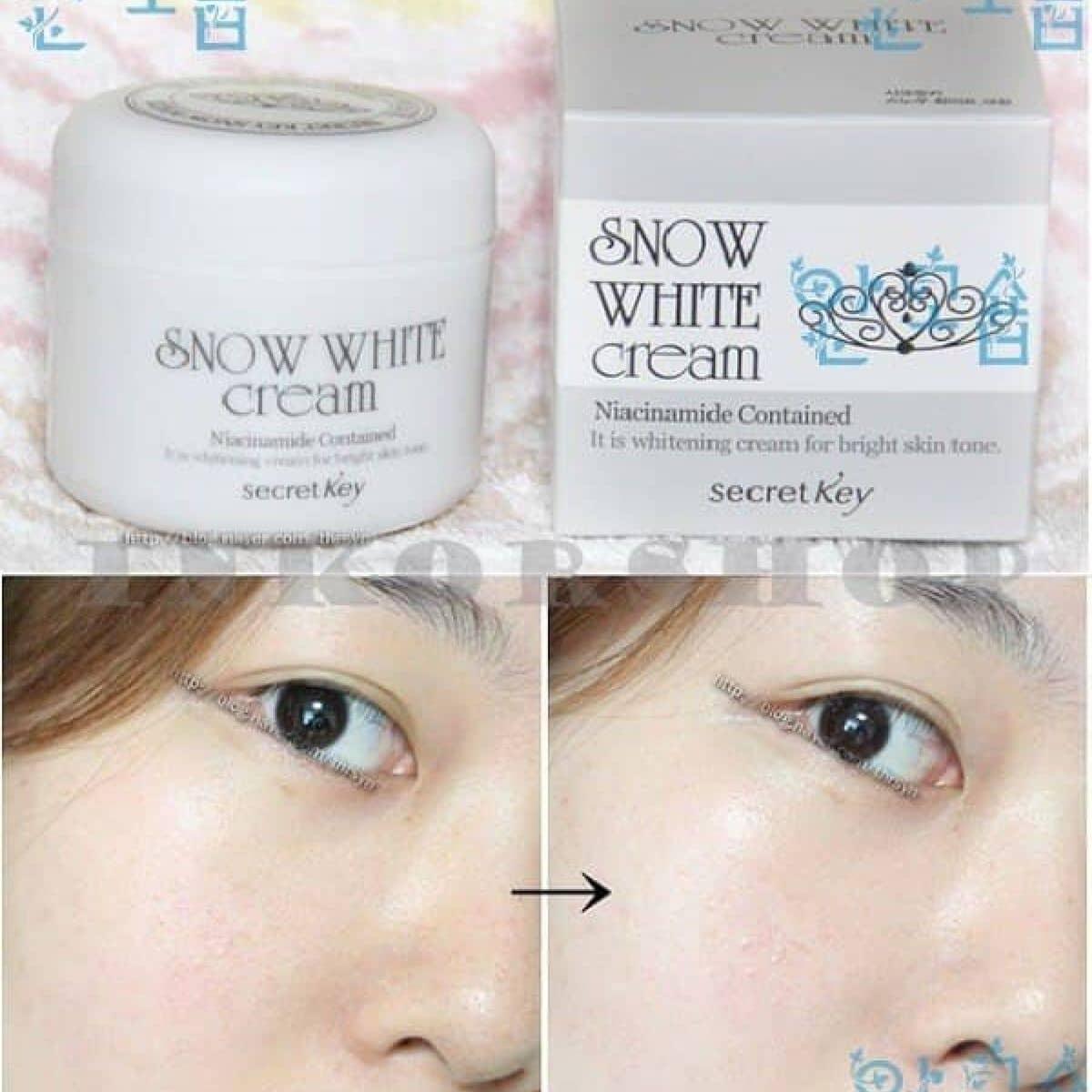 Snow White Cream Secret Key Ti H Hc Lm Bnh Tn Tphcm Ca Nhinguyen Lozi