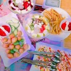 Sữa chua Dẻo + Kem ý của Tran Thuy tại Ăn vặt quán ngon - 2489665