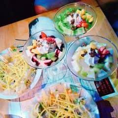 Sữa chua dẻo Kiwi, Matcha, Blueberry, bánh tráng cuốn của Kem Chua Dẻo tại Ăn vặt quán ngon - 2041571