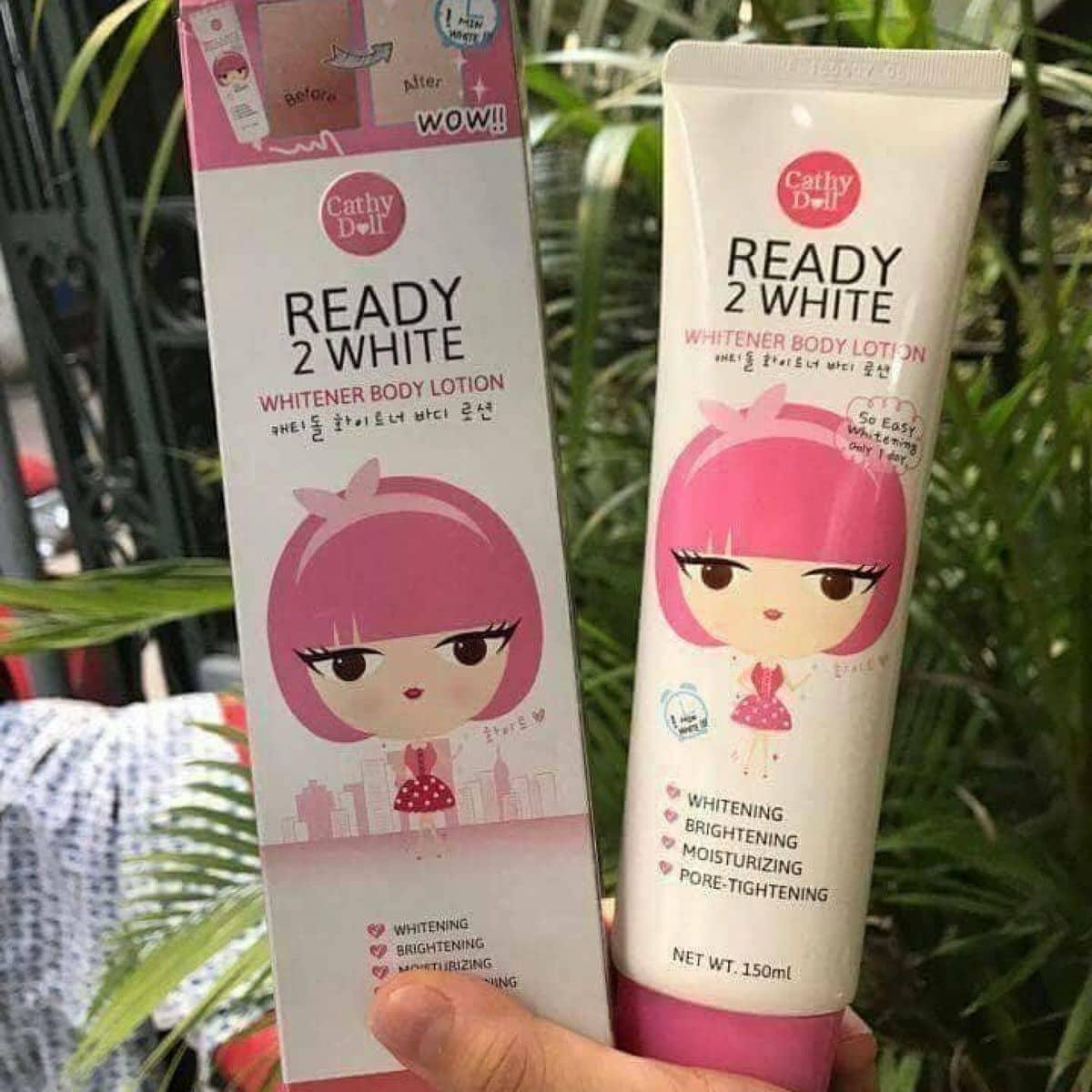 Sa Dng Trng Cathy Doll Ready 2 White Ti Gym 9999 Kha Vn Cn Whitener Body Lotion 150ml Ca Cherryhan1996 Lozi