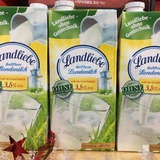 🍼Sữa Tươi Thanh Trùng Haltbare Landmilch.3,8% FETT_Đức của phamuyen238 tại 4 Đô Đốc Lộc, Tân Quý, Quận Tân Phú, Hồ Chí Minh - 3148378