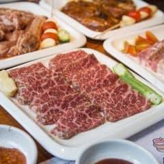 Phần thịt mình mê nhất nên đi ăn nướng ở đâu cũng gọi. Ở đây thịt mềm, ngọt, nướng xong ăn không cũng ngon mà chấm sốt càng ngon nữa. 😍