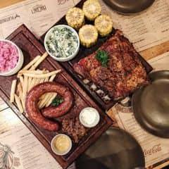 Sườn heo nướng gỗ điều của Linh Minion tại Quán Ụt Ụt - Barbecue & Beer - 1958774