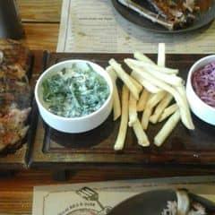 Sườn heo nướng + khoai tây + bắp cải của Suu tại Quán Ụt Ụt - Barbecue & Beer - 1653376