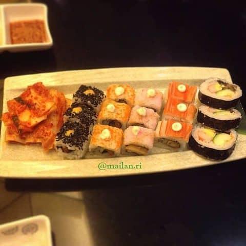 Sushi  - 1418907 mailan.ri - King BBQ Buffet – AEON Tân Phú - Aeon Mall Tân Phú, Quận Tân Phú, Hồ Chí Minh
