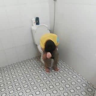 Thằng nhóc và cái bồn vệ sinh( hàng mới) của phatductran tại Lâm Đồng - 3685743