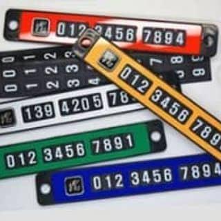 thẻ gắn sô nam châm cho ô tô của xiketubetrinhtrong tại Hồ Chí Minh - 2853985