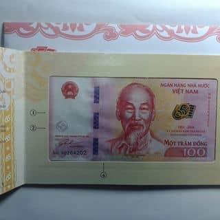 Thiệp tiền 100 đồng lưu niệm. của nguyentrongtam2 tại Chợ Đêm Đà Lạt, Thành Phố Đà Lạt, Lâm Đồng - 1499013