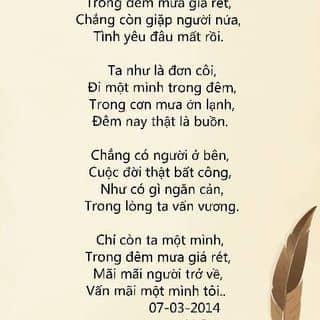Thơ tình của chienhoang25 tại Cao Bằng - 2402971