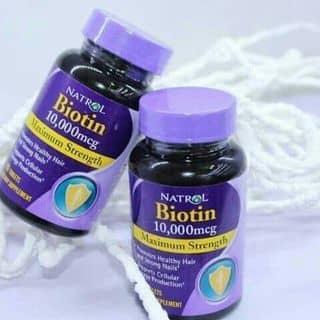Thuốc uống Maximum Strengh Biotin 10.000 mcg kích thích mọc tóc và ngăn rụng tóc của anmom tại Long An - 2089301