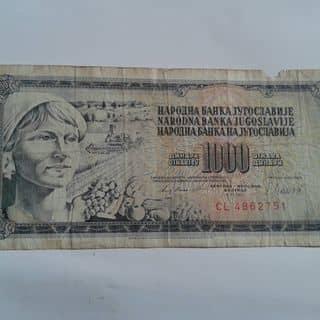 Tiền giấy Nam Tư. của nguyentrongtam2 tại Chợ Đêm Đà Lạt, Thành Phố Đà Lạt, Lâm Đồng - 1503269