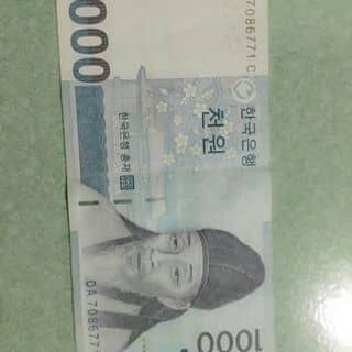 Tiền Hàn Quốc của meocon0507 tại Bình Định - 1902507