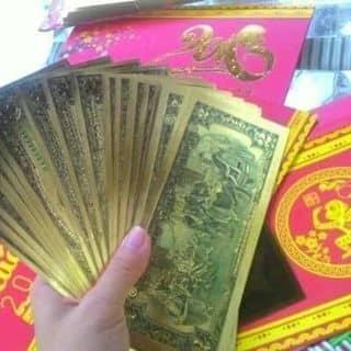 Tiền mạ vàng plastic của phamcandys tại Đồng Tháp - 2480511