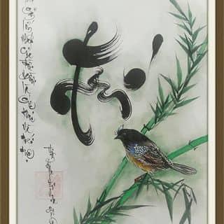 Tp chữ Trí của thuphapthienhoa tại Chợ Trà Vinh, phường 3, Thị Xã Trà Vinh, Trà Vinh - 1573837