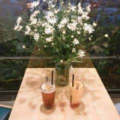 Trà đào x Trà đào thạch của Mực Mốc Meo tại Urban Station Coffee Takeaway - Phạm Ngọc Thạch - 2302514