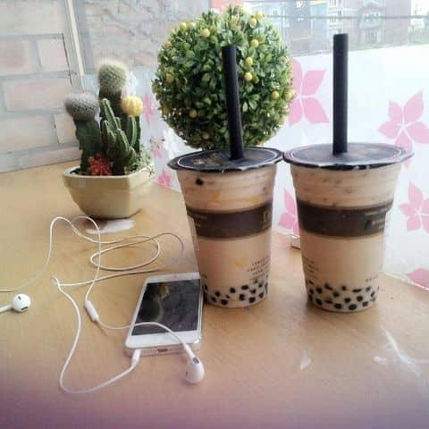 Các hình ảnh được chụp tại Ding Tea - Hồ Tùng Mậu