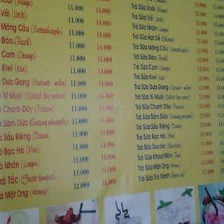 Trà sữa Huỳnh thúc kháng của boaa tại Khánh Hòa - 2486378