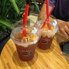 Trà thanh đào Highland của Lê Quỳnh tại Highlands Coffee - Royal City - 1435029
