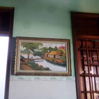 Tranh thêu cảnh làng quê của linh9878 tại Quảng Ngãi - 2233477