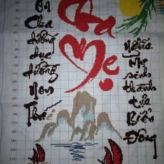 Tranh thêu chữ thập - Cha Mẹ của quyentran96 tại Lai Châu - 1702637