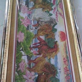 tranh thêu mã đáo thành công của nguyenngoc806 tại Chợ Trà Vinh, phường 3, Thị Xã Trà Vinh, Trà Vinh - 2000746