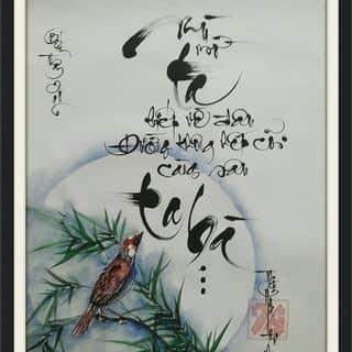 Tranh thư pháp của thuphapthienhoa tại Chợ Trà Vinh, phường 3, Thị Xã Trà Vinh, Trà Vinh - 1671461